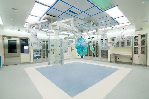 New operating room at Packard Children's Hospital