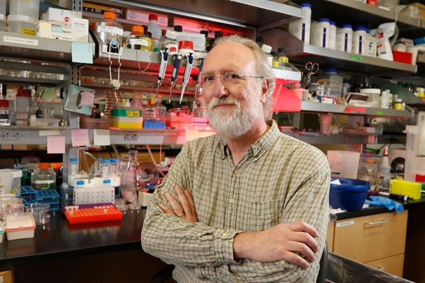James Ferrell in his lab