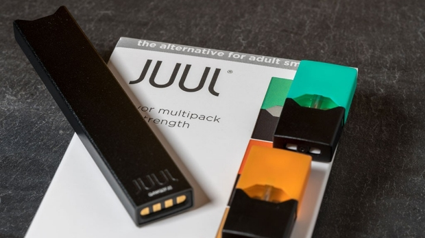 Juul e-cigarettes pose addiction risk for young users