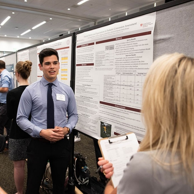 Breadth of student research showcased at annual symposium