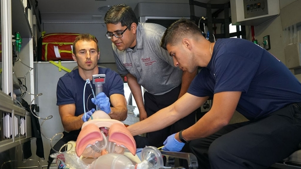 Stanford Medicine trains fire departments