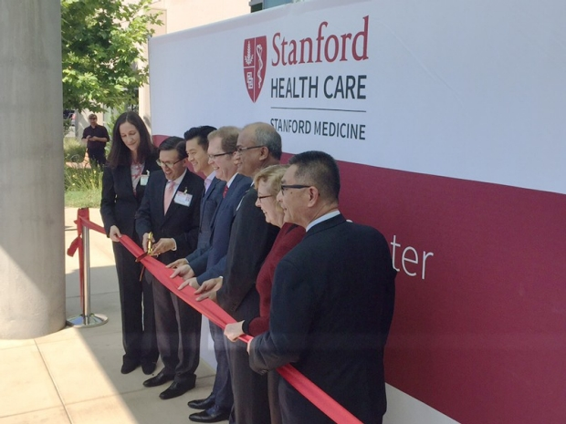 Photo of the Stanford Cancer Center South Bay opening ceremony