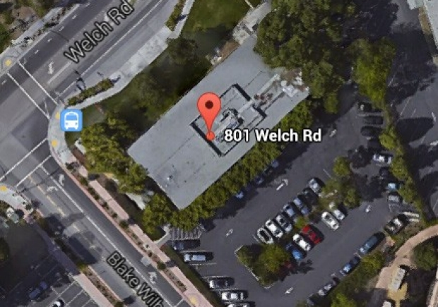 801 Welch Rd. Parking Lot