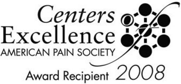 American Pain Society 2008 Centers of Excellence Award