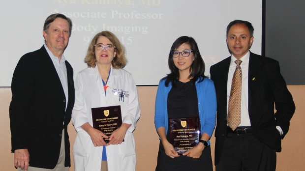 Department Promotions: Dr. Desser and Dr. Kamaya
