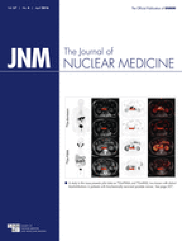 Research Featured on the Cover of the Journal of Nuclear Medicine