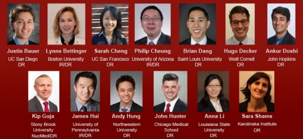 Photos of the 2018 Radiology Residents