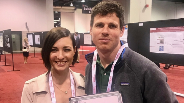 Radiology Postdocs, Corrine Beinat and Marc Stevens, have Received Awards at SNMMI 2019