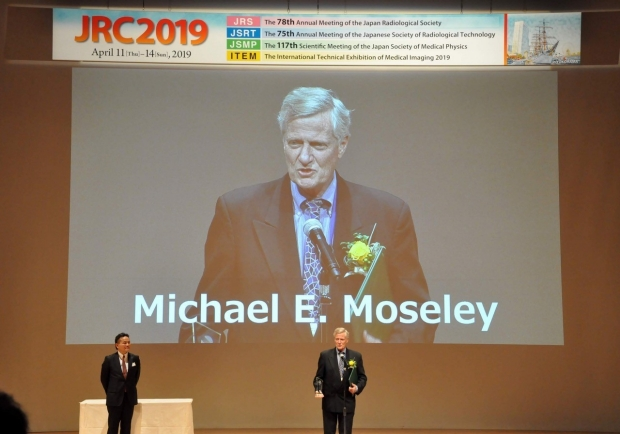 Mike Moseley Recognized by the Japan Radiological Society