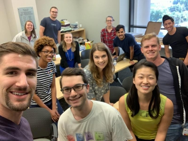 August 2019 meeting selfie