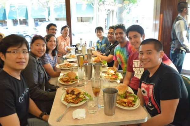 Peter Yang Lab Group, August 2014
